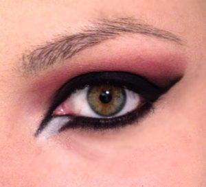 Maquiagem Sombra Branca